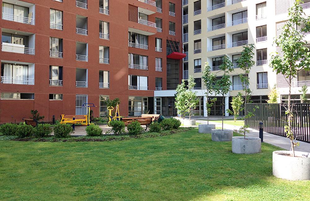 Jardines interiores en edificios jardines verticales - Restaurante noto marbella ...